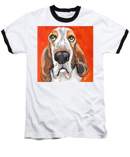 Toby Baseball T-Shirt by Barbara O'Toole