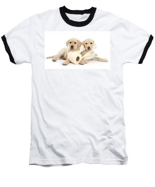 Toilet Humour Baseball T-Shirt