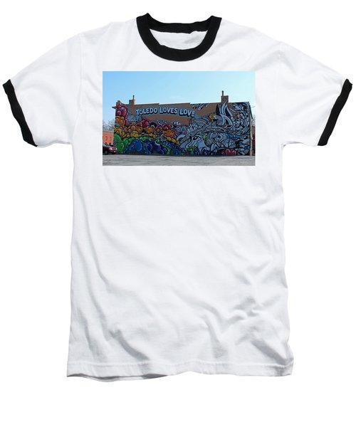 Toledo Loves Love Baseball T-Shirt