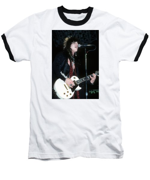 Tom Keifer Of Cinderella Baseball T-Shirt