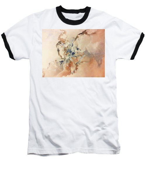 Baseball T-Shirt featuring the painting Tomorrows Dream by Raymond Doward
