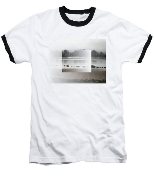 Baseball T-Shirt featuring the painting Too Early Out by Ivana
