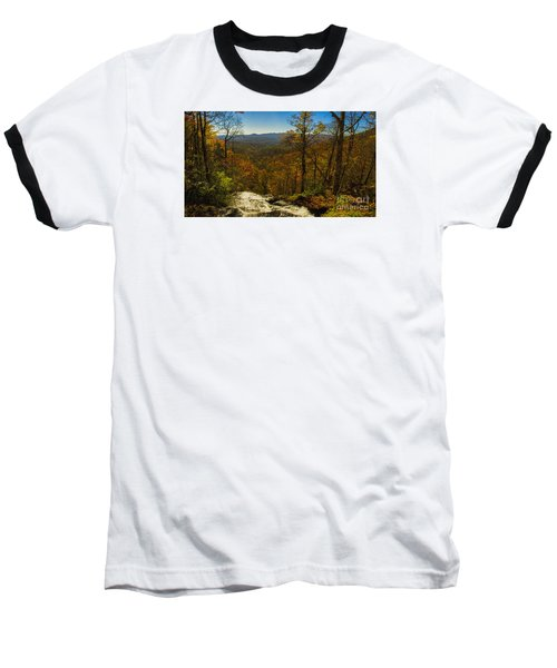 Top Of Amicola Falls Baseball T-Shirt