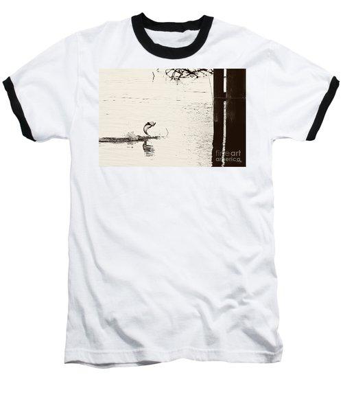 Top Water Explosion - Vintage Tone Baseball T-Shirt