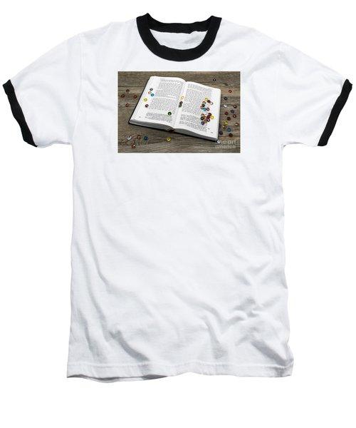 Torah Book Baseball T-Shirt