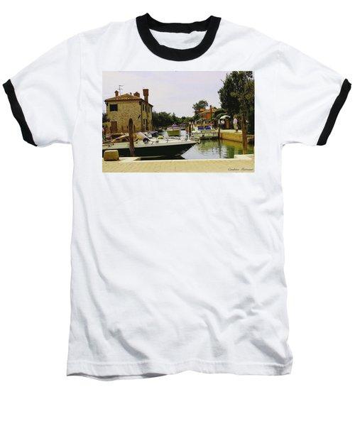 Torcello Island Baseball T-Shirt by Cendrine Marrouat