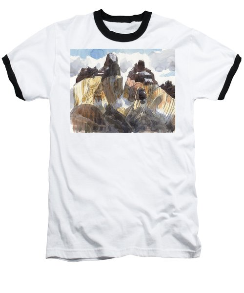 Torres Del Paine, Chile Baseball T-Shirt