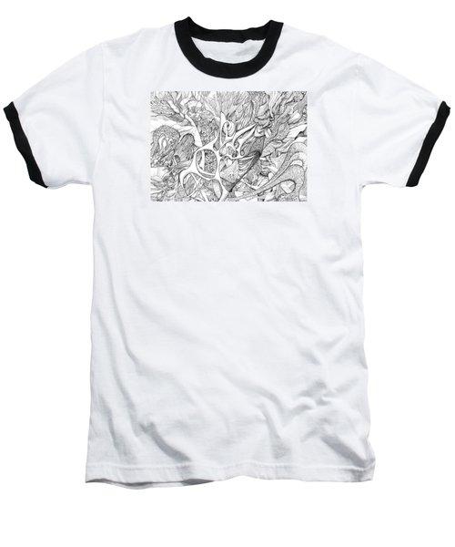 Tortuosity Baseball T-Shirt