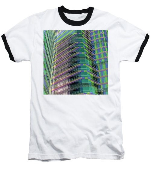 Abstract Angles Baseball T-Shirt