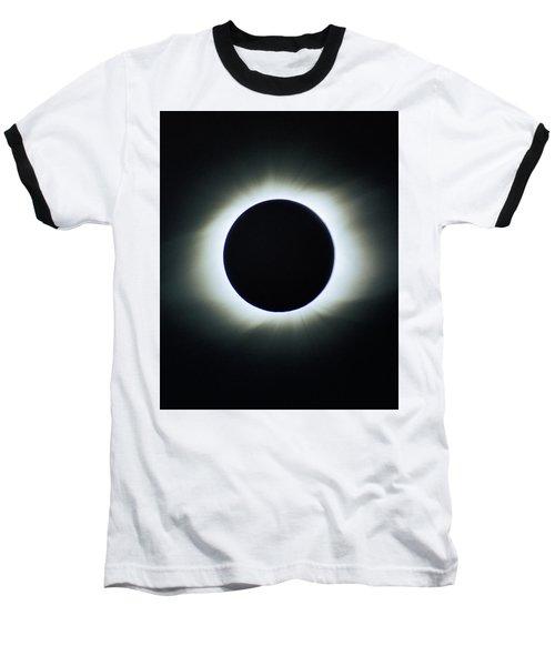 Total Solar Eclipse - Aruba 1998 Baseball T-Shirt
