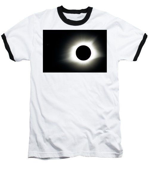 Totality And Mercury Baseball T-Shirt