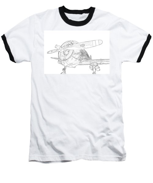 Touch And Go Baseball T-Shirt