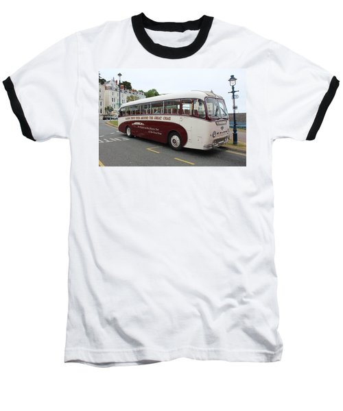 Tour Bus Baseball T-Shirt