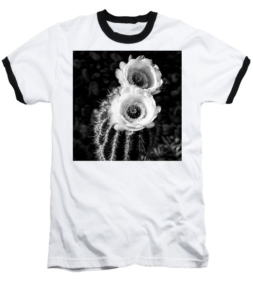 Tourch Cactus Bloom Baseball T-Shirt