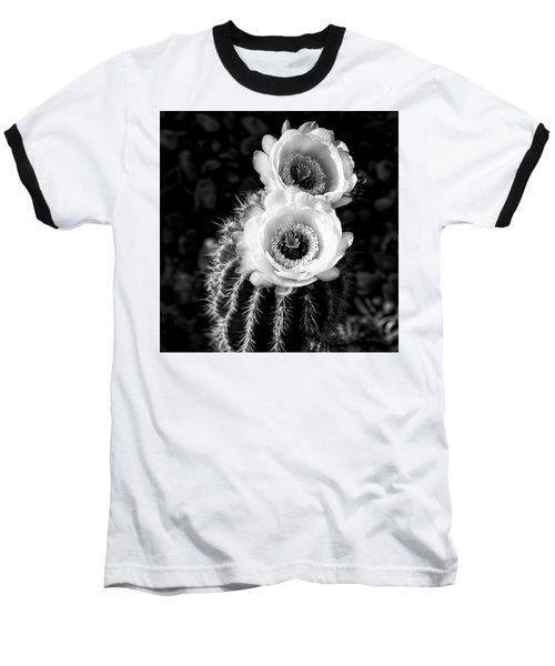 Tourch Cactus Bloom Baseball T-Shirt