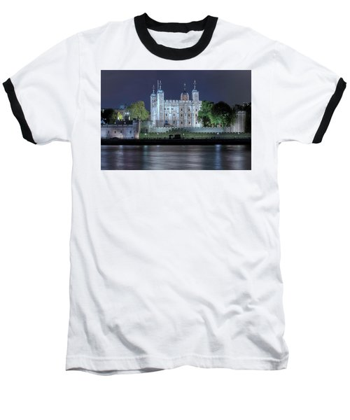 Tower Of London Baseball T-Shirt by Joana Kruse