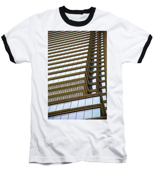 Baseball T-Shirt featuring the photograph Towering Windows by Karol Livote