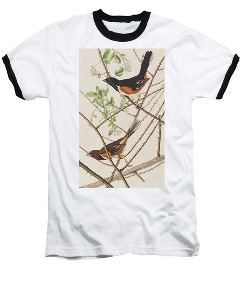 Towhe Bunting Baseball T-Shirt