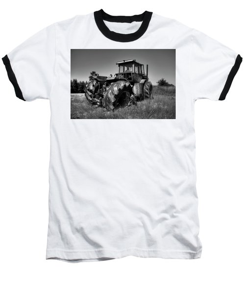 Tractor In The Countryside Baseball T-Shirt