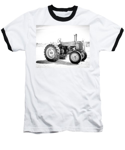 Baseball T-Shirt featuring the photograph Tractor by Silvia Bruno