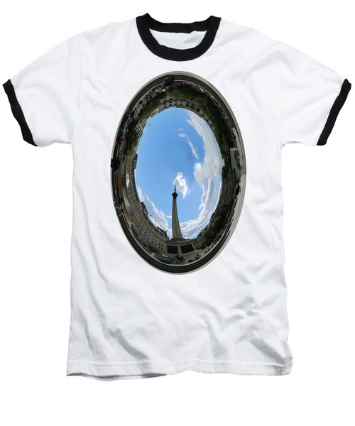Trafalgar Square Oval Baseball T-Shirt