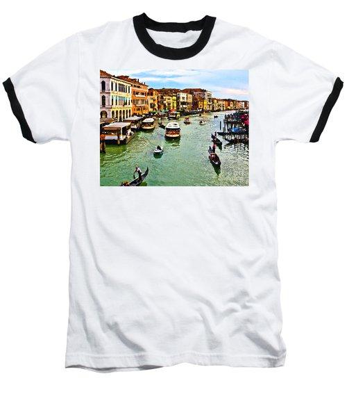 Traghetto, Vaporetto, Gondola  Baseball T-Shirt