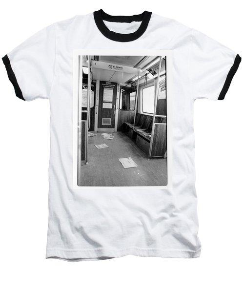 Train Car  Baseball T-Shirt