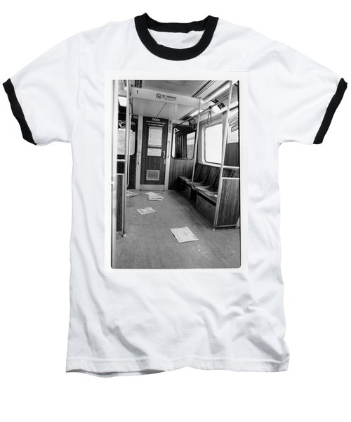Train Car  Baseball T-Shirt