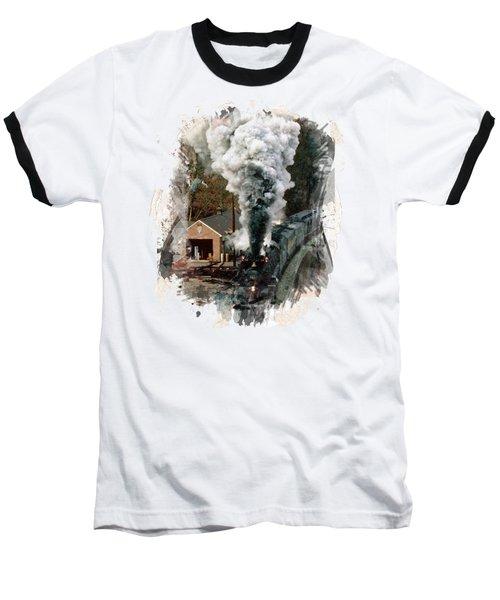 Train Days Baseball T-Shirt
