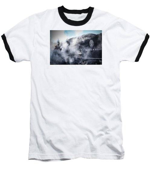 Train Engine 463 Baseball T-Shirt