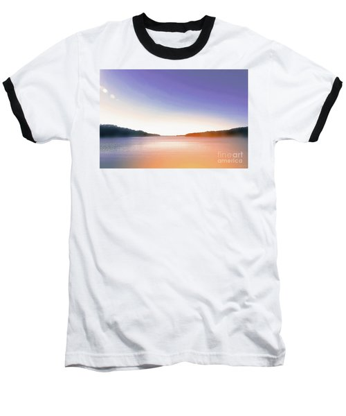 Tranquil Afternoon At The Lake Baseball T-Shirt