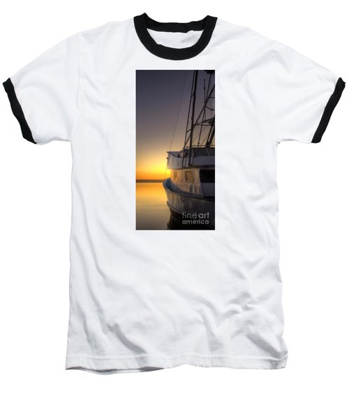 Tranquility On The Bay Baseball T-Shirt