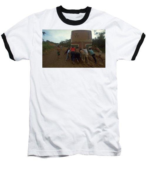 Trans Amazonian Highway, Brazil Baseball T-Shirt