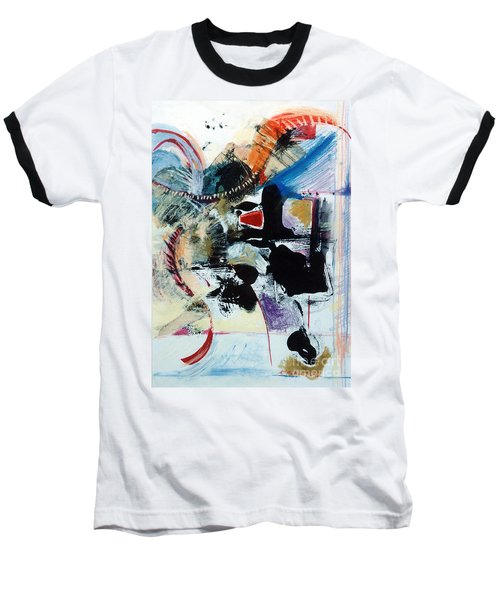 Baseball T-Shirt featuring the drawing Transcendance  by Kerryn Madsen-Pietsch