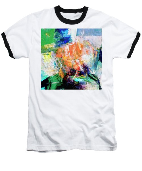 Baseball T-Shirt featuring the painting Transformer by Dominic Piperata