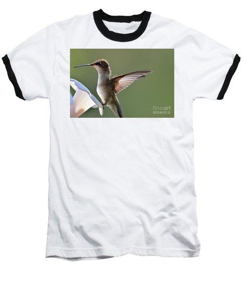 Transparent Winged Hummingbird Baseball T-Shirt
