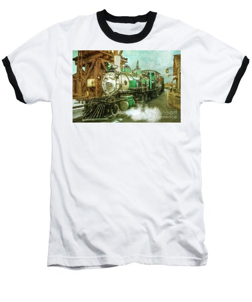 Traveling By Train Baseball T-Shirt