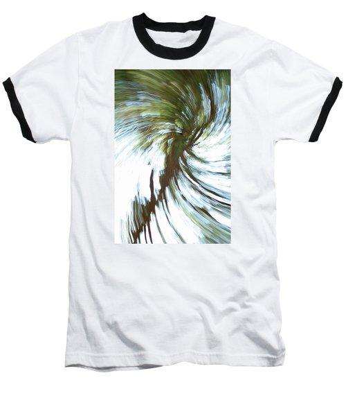Tree Diptych 1 Baseball T-Shirt