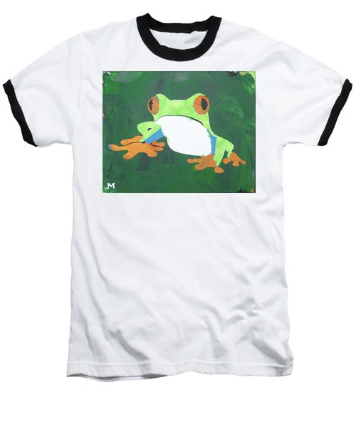 Tree Frog Baseball T-Shirt