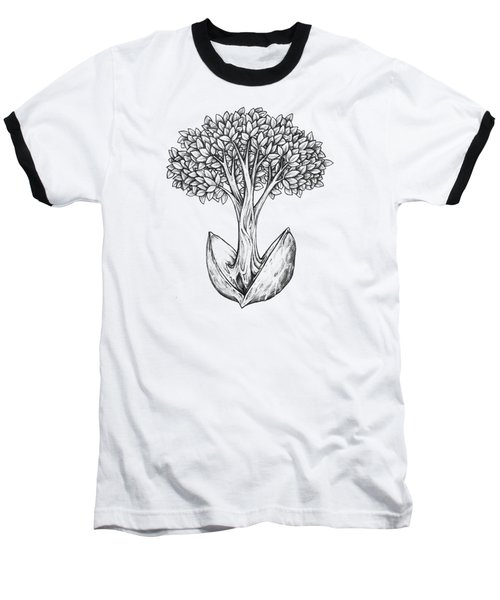 Tree From Seed Baseball T-Shirt