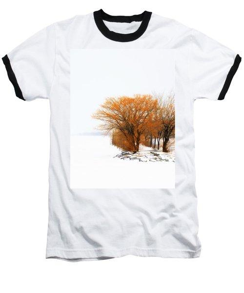 Tree In The Winter Baseball T-Shirt