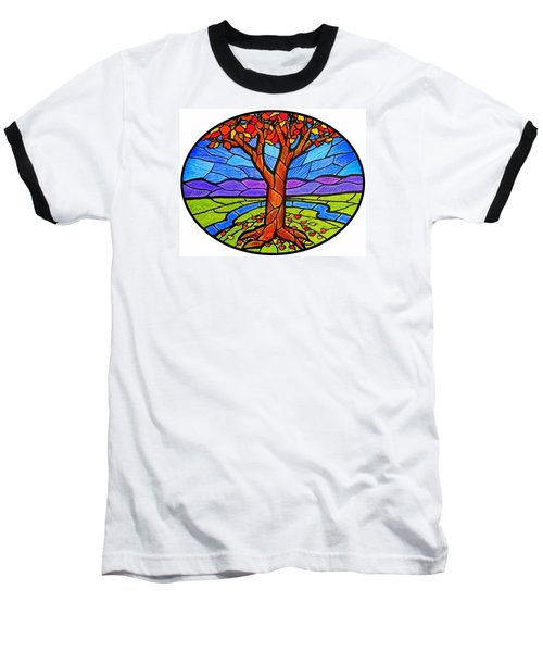 Tree Of Grace - Autumn Baseball T-Shirt