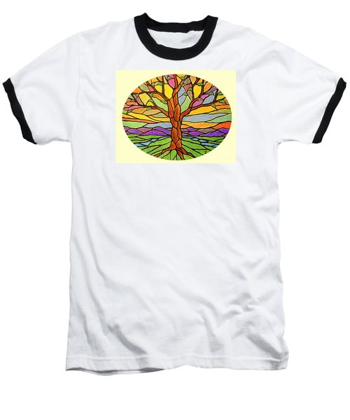 Tree Of Grace 2 Baseball T-Shirt by Jim Harris