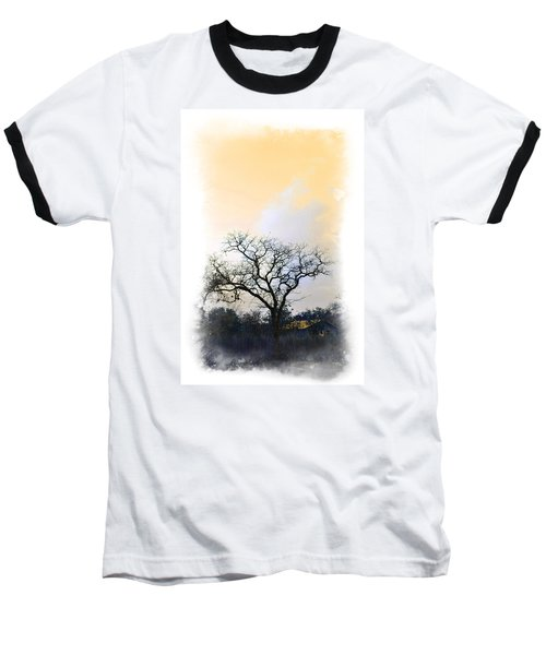Baseball T-Shirt featuring the photograph Tree Of La Vernia II by Carolina Liechtenstein