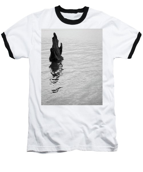 Tree Reflections, Rest In The Water Baseball T-Shirt