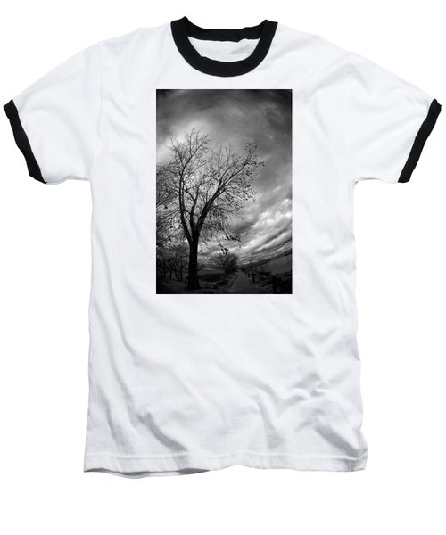 Tree 4 Baseball T-Shirt