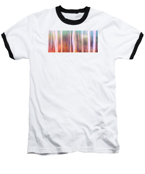 Tree Star Abstract Baseball T-Shirt by Clare VanderVeen