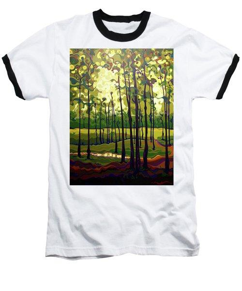 Treecentric Summer Glow Baseball T-Shirt
