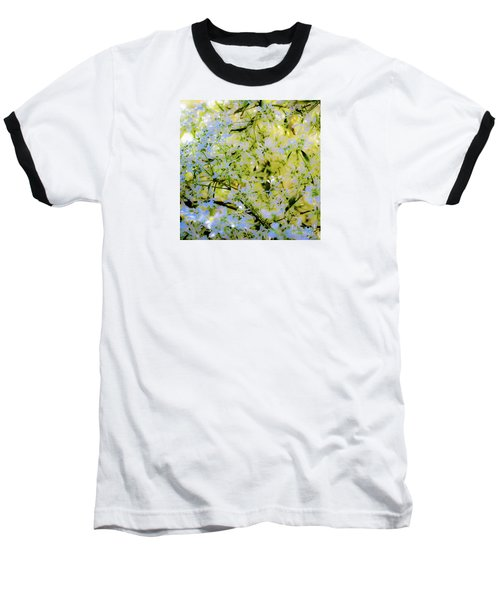 Trees And Leaves Baseball T-Shirt