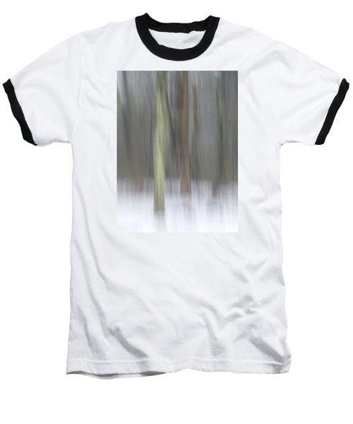 Trees In Fog II Baseball T-Shirt